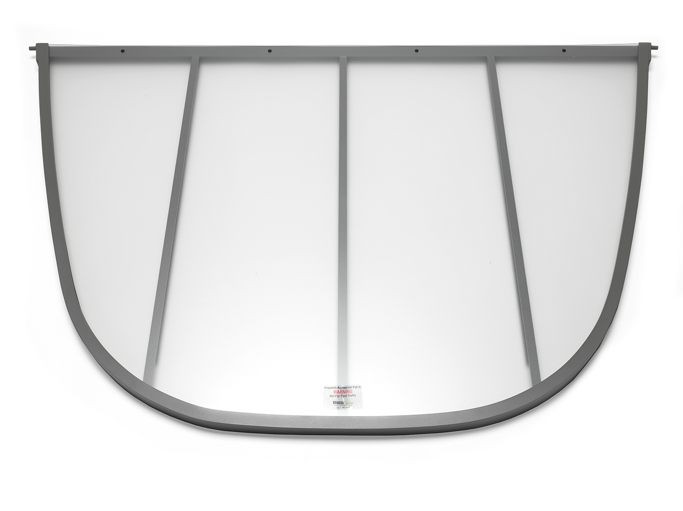 Denali Series Egress Window Well Cover built by RockWell egress window wells, covers, grates, ladders, and accessories
