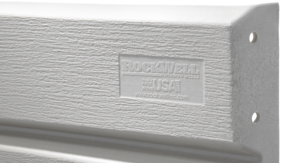Light Weight Denali Series Egress Window Wells built by RockWell egress window wells, covers, grates, ladders, and accessories - Made in the USA