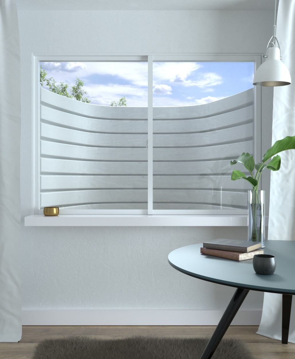 Denali Series Egress Window Wells built by RockWell egress window wells, covers, grates, ladders, and accessories, Dent free