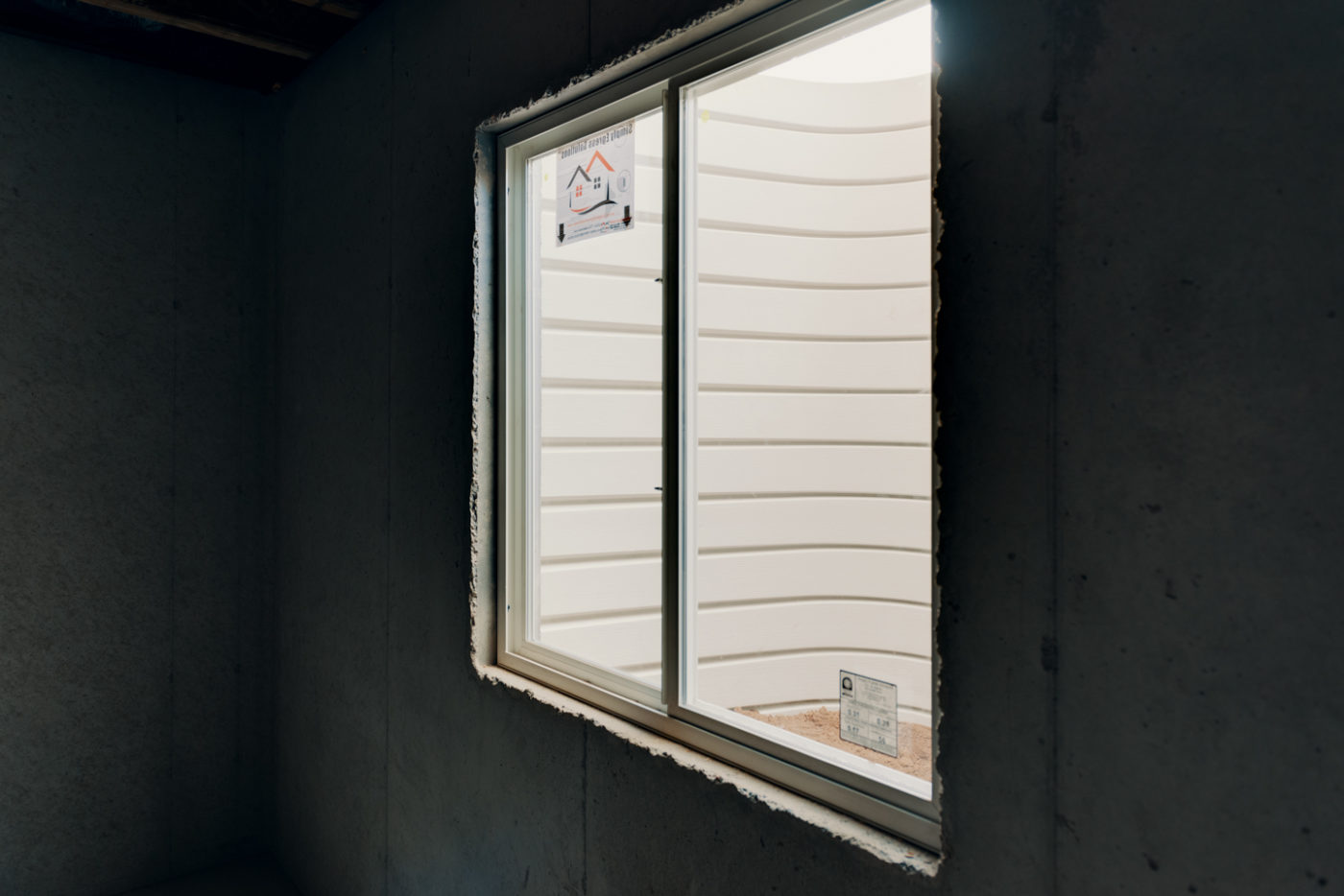 Light Weight Denali Series Egress Window Wells built by RockWell egress window wells, covers, grates, ladders, and accessories